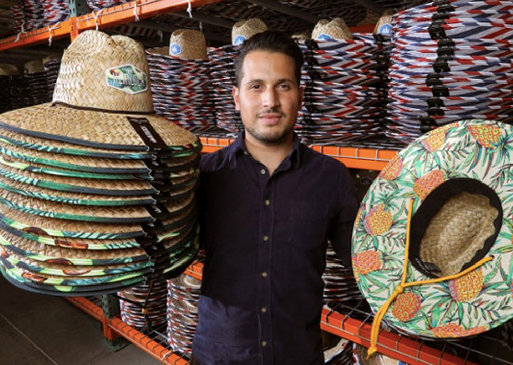 Hemlock Hat Co. Selling Hundreds of Thousands of Colorful Straw Hats